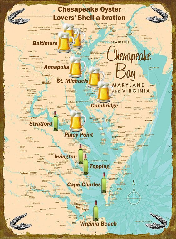 17 Best Images About Chesapeake Oyster Crawl 2016 On