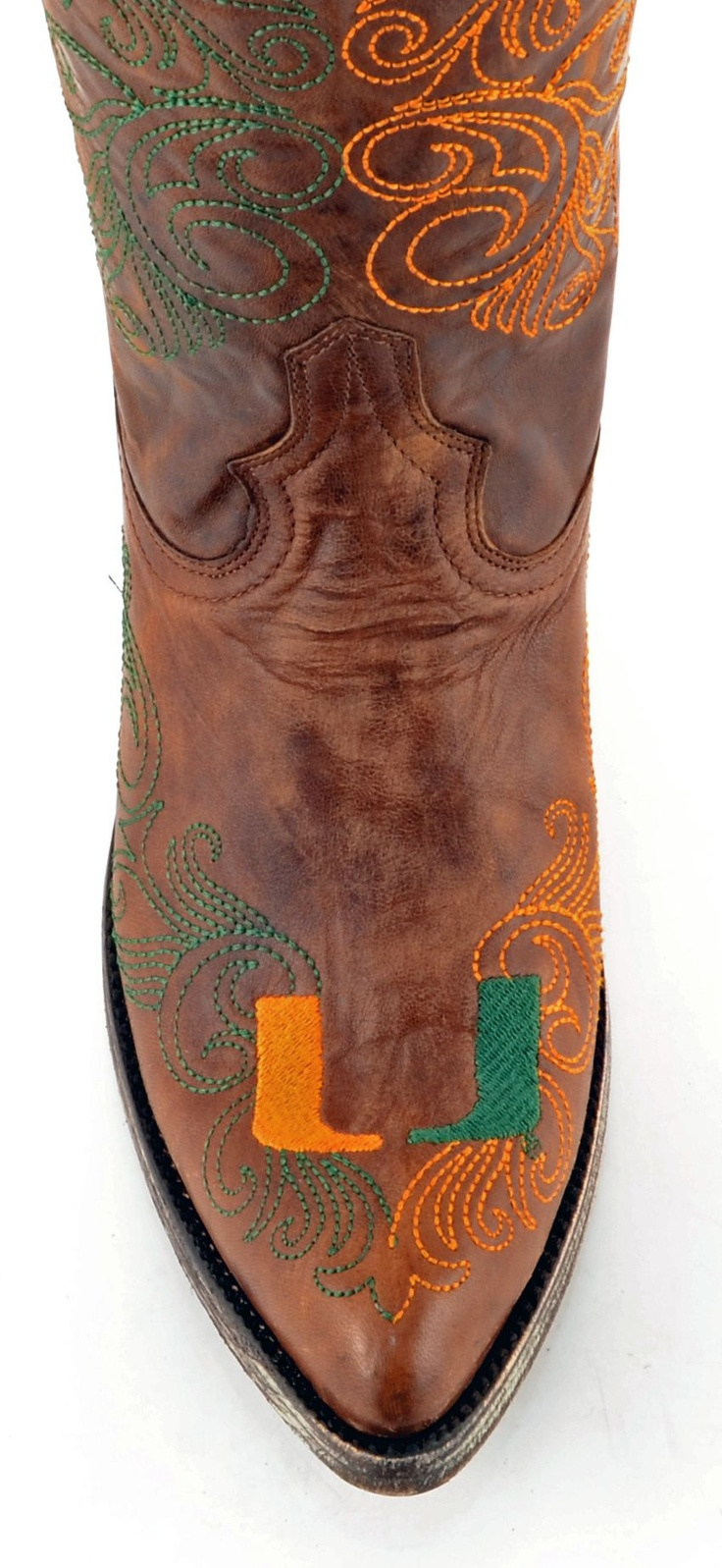 Womens University of Miami Gameday Boots