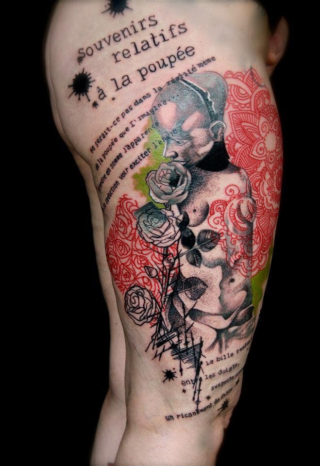 tattoo by pascal scaillet sky belgium tattoo. Black Bedroom Furniture Sets. Home Design Ideas