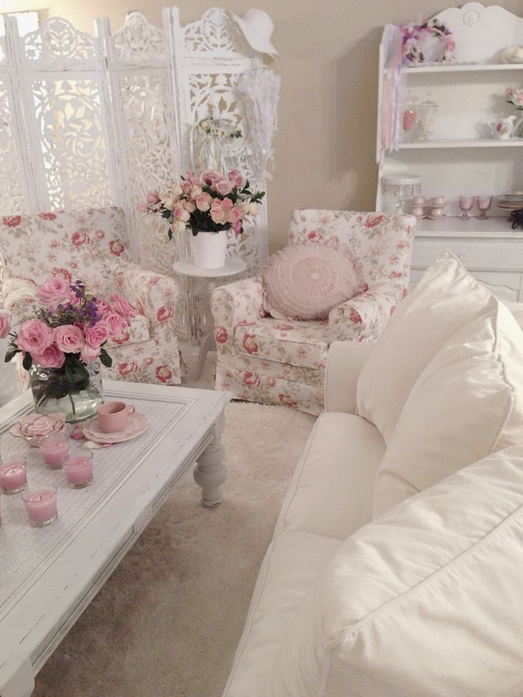 Romantik evim Romantic Shabby chic Shabby chic kumaşlar Yatak örtüleri Vintage floral Home decoration Romantik Shabby chic blog
