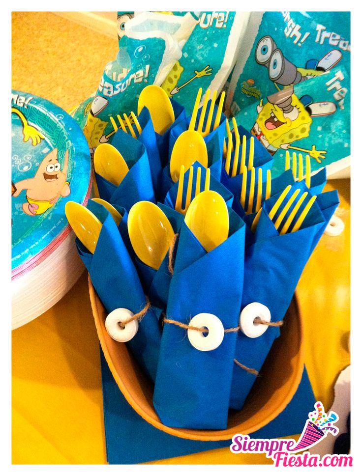 Ideas para fiesta de cumpleaños de Bob Esponja. Encuentra los mejores artículos para tu fiesta de cumpleaños en nuestra tienda en línea. Entra aquí: http://www.siemprefiesta.com/fiestas-infantiles/ninos/articulos-bob-esponja.html?limit=30&utm_source=Pinterest&utm_medium=Pin&utm_campaign=BobEsponja