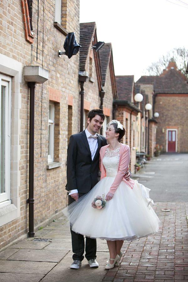 Short Wedding Dresses with Cardigan