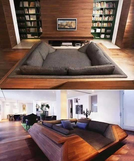 I would crawl in and never come out…