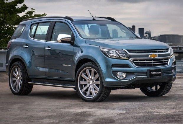 Novas Chevrolet S10 e Trailblazer 2017 são antecipadas por conceitos