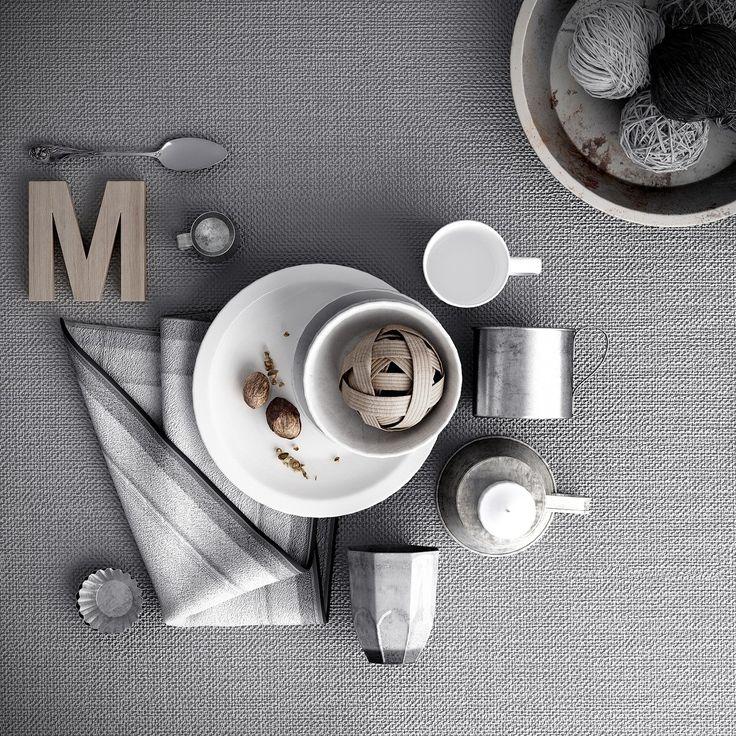 #interior #kitchen #ceramic #metal #gray #stillLife - Modellazione e rendering: Cinema 4D + Vray Post-produzione: Photoshop