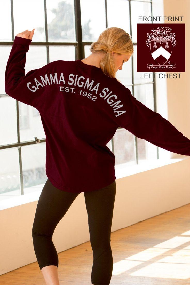 Gamma Sigma Sigma - Est. 1952 - Sorority Basics Classic Spirit Jersey®