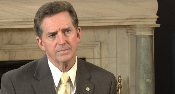 "Healthcare is having a moment; How do you feel about DeMint's thoughts to ""not build on the model of the ACA""?"