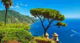 Shore Excursion from Naples and Sorrento to Amalfi, Ravello and Positano