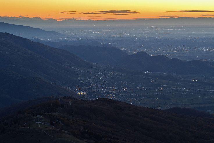 Valdobbiadene e le colline del Prosecco