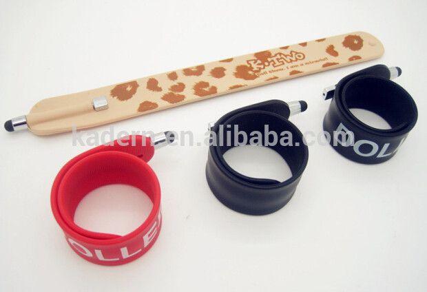 bracelet design 2 in 1 stylus and ball pen
