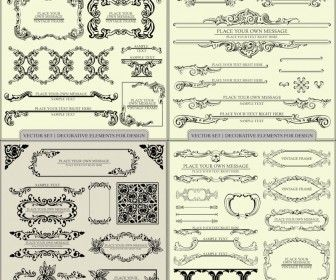 36 best vector for wedding images on pinterest free vector vintage embellishment elements vector stopboris Image collections