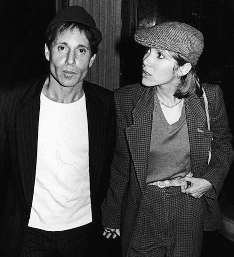 Paul Simon & Carrie Fisher