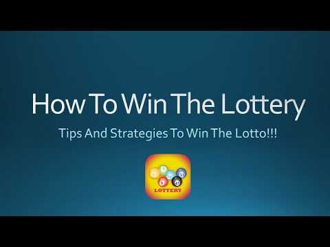 How to Win the Lottery - Quick Tips and Strategies to Win the Lotto!!! - (More info on: https://1-W-W.COM/lottery/how-to-win-the-lottery-quick-tips-and-strategies-to-win-the-lotto/)