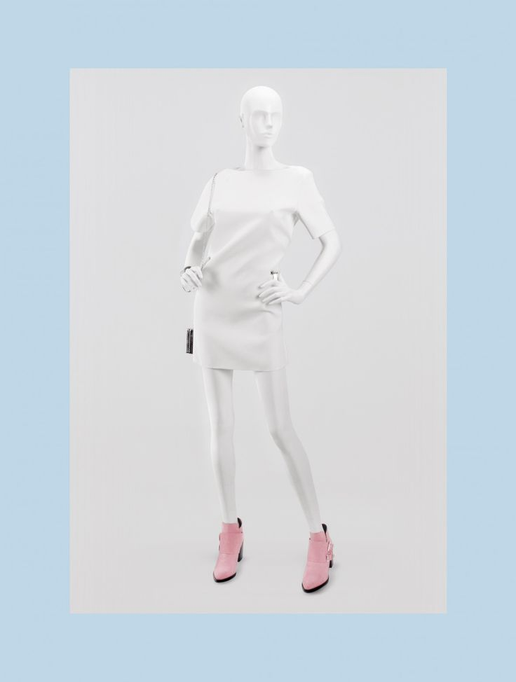 NEXT Collection by More Mannequins #FemaleMannequin #boutique #whiteonwhite
