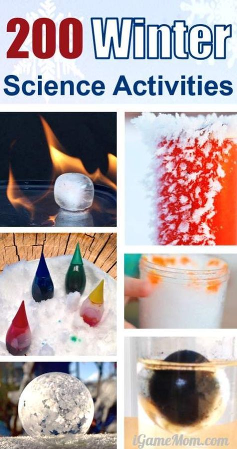 Winter science activities for kids, ice, snow, cold, or just something to do in the kitchen. A wonderful STEM resource for classroom teachers, homeschool families, or parents looking for after school program curriculum, activities to keep kids entertained during the cold winter break and holidays