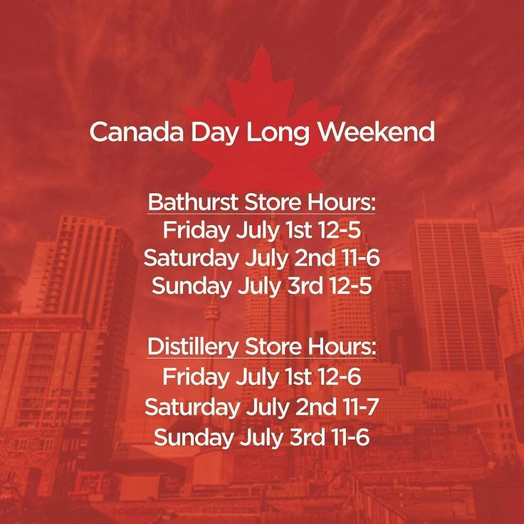 Come on in and shop with us this long weekend  #canada #menswear #canadaday #toronto #welovecanada