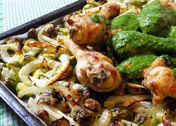 Kip met salsa verde #Avogelrecepten