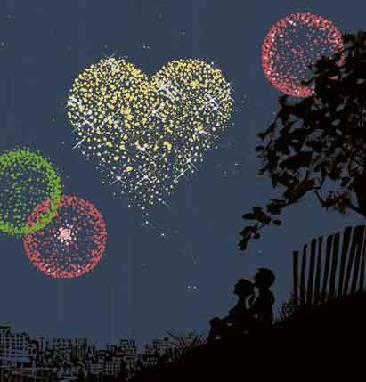Love and Fireworks / Amore e Fuochi d'artificio - Illust: #JordiLabanda