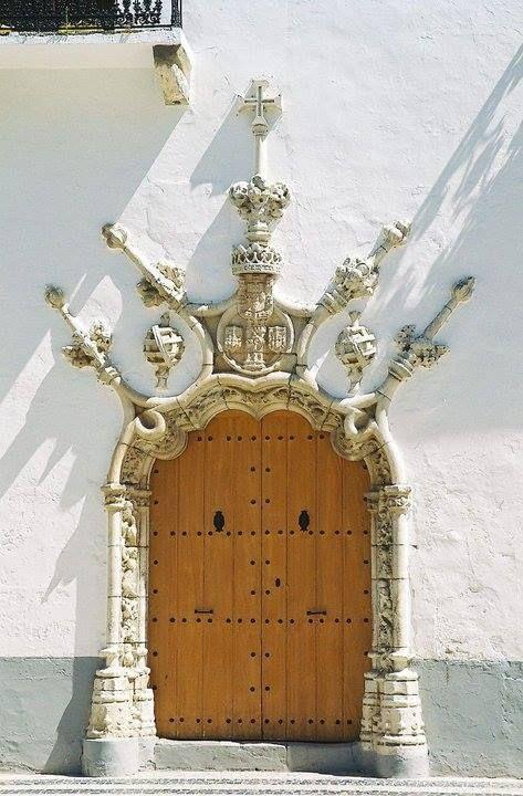 Palácio dos Duques do Cadaval em Olivença. Portugal