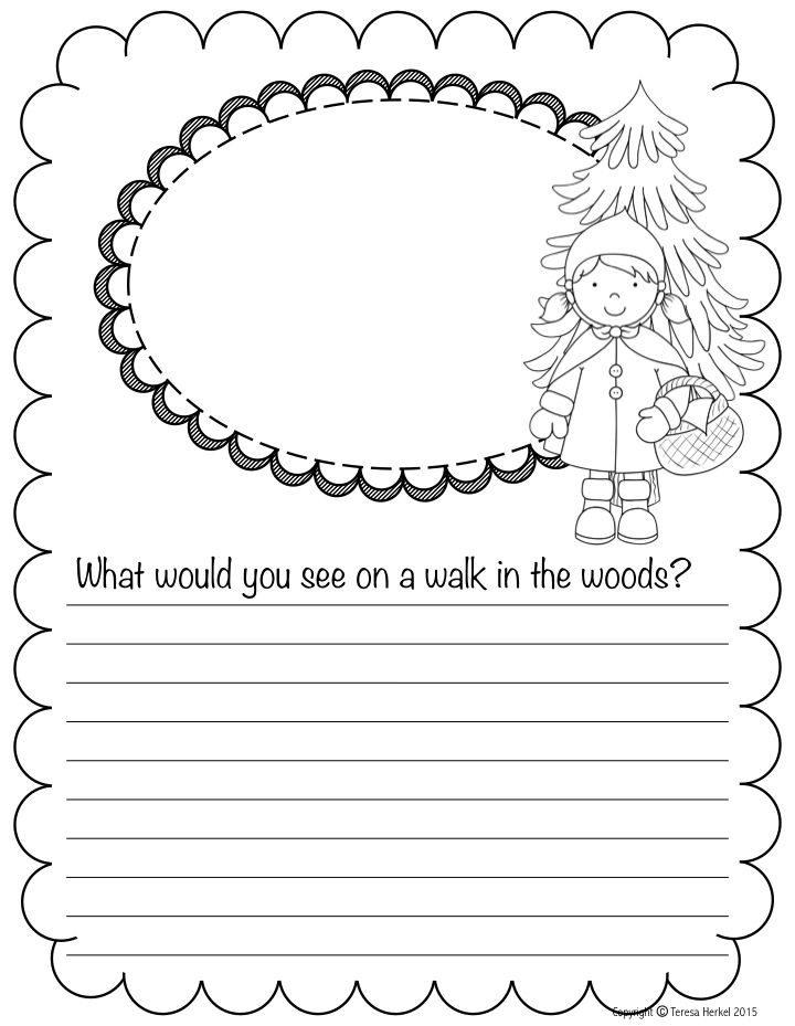 Journal Writing Ideas for November: These ready-to-go printables are a great way to get kids writing EVERY day!