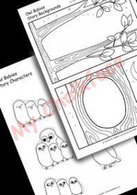 Owl Babies Make A Story (Literacy)