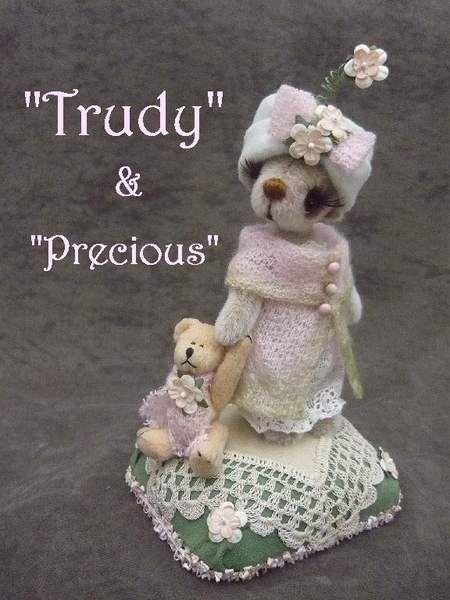 Trudy and Precious by Monica's Attic Treasures