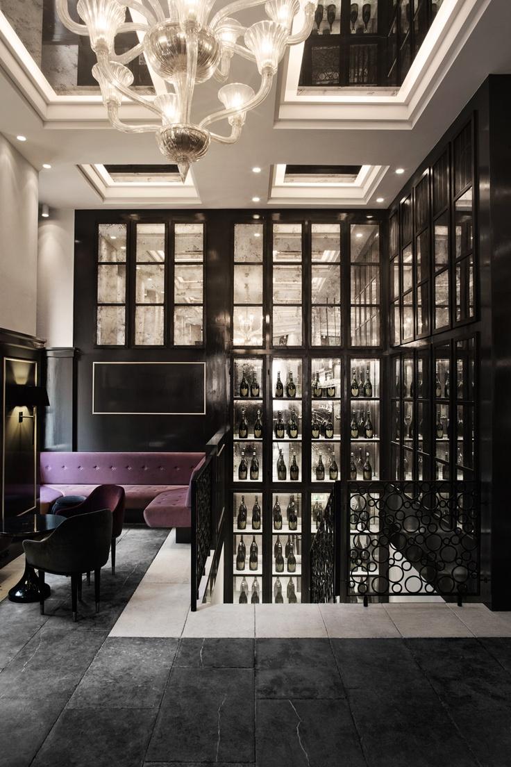 ~ Space// Balthazar Champagne Bar   London Design Journal