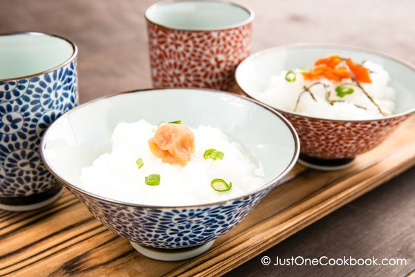 Rice Porridge (Okayu) | Recipe | Rice Porridge and Rice