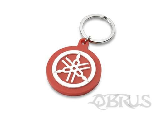 Yamaha Tuning Fork Keyring Embossed 'soft-feel' keyring featuring our distinctive tuning fork logo. Available in red or blue colour options £3.21 inc vat All available to order from QBRUS 01621 893227