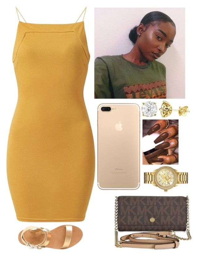 """✨✨✨"" by amournyaa ❤ liked on Polyvore featuring AX Paris, Michael Kors, Bulova and J.Crew"