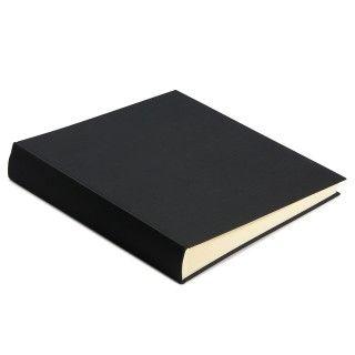 Black medium linen cover traditional photo album - Photo Albums & Scrapbooks - Home & Kitchen - Gifts