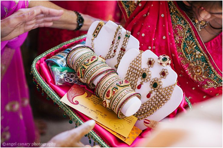 Gift Ideas For Indian Bride And Groom : gift from the grooms side of the family to the bride // indian hindu ...