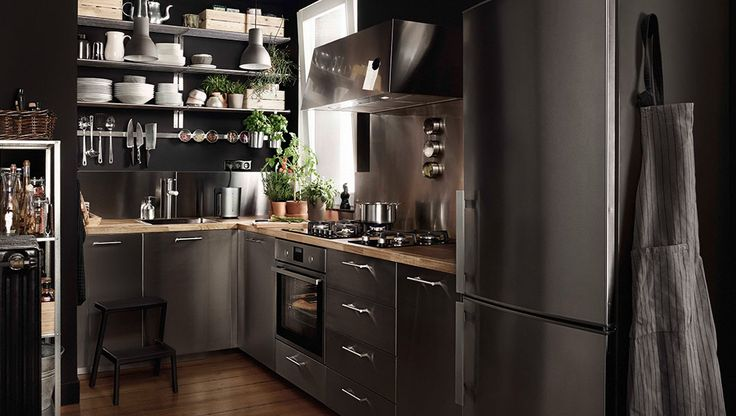 17 Best images about Küche on Pinterest The smalls, Cuisine and - ikea kuche schwarz weiss