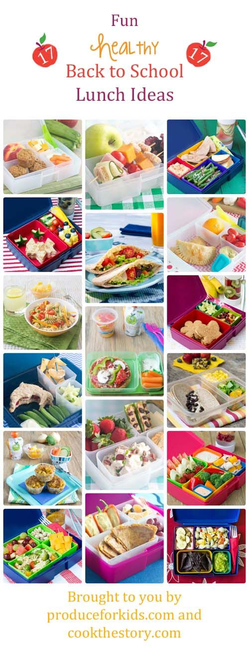 Back to School Lunch Box Ideas - These fun and healthy lunch recipes will make your kids happy to open their lunch box and eat what's inside!