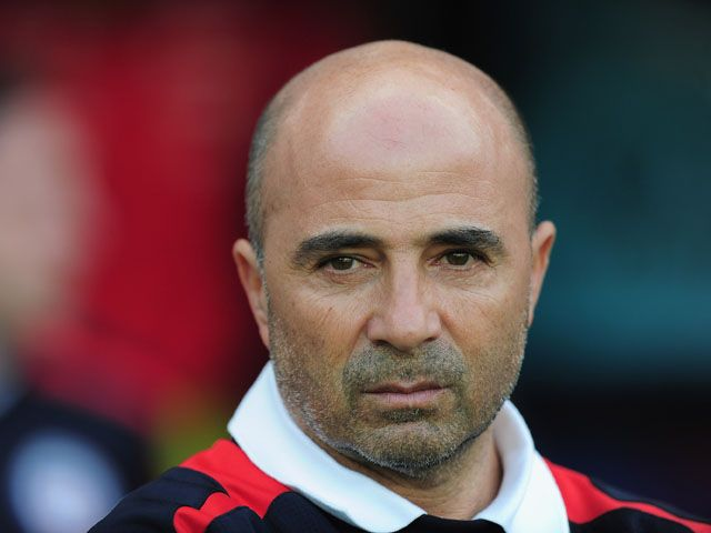 Sevilla head coach Jorge Sampaoli denies Barcelona contact #Barcelona #Sevilla #Football