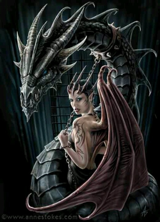 Anne Stokes dragon fantasy art dragons