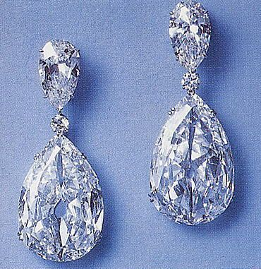The Indore Pears      The Indore Pears set as a pair of earrings.    These two diamonds are linked to the Malabar Hill Murder: One evening in January of 1925 at an hour when the hanging gardens of Malabar Hill, one of the most salubrious parts of Bombay, were crowded with people, an official of the Bombay Corporation was driving along its ridge, accompanied by a friend and a Muslim woman. Suddenly their car was attacked by armed men. The official was murdered and the two others were injured…