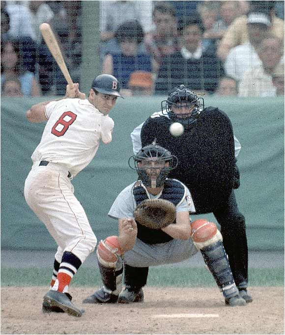 "Carl Yastrzemski #8 OF Boston Red Sox. Triple Crown, MVP, Hall of Fame - ""Yaz"" Could Do It All."