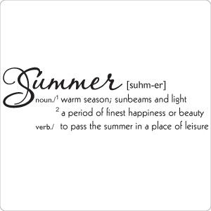 Summer Definition