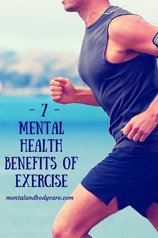 mental benefits of exercise We often hear about the physical benefits of exercise (eg, increasing heart health), less often are the psychological benefits promoted yet, engaging in a moderate amount of physical activity will result in improved mood and emotional states.