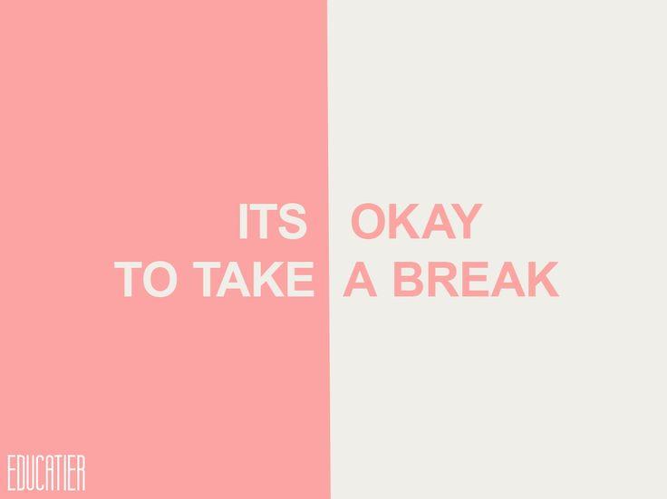 lets take a break in relationship