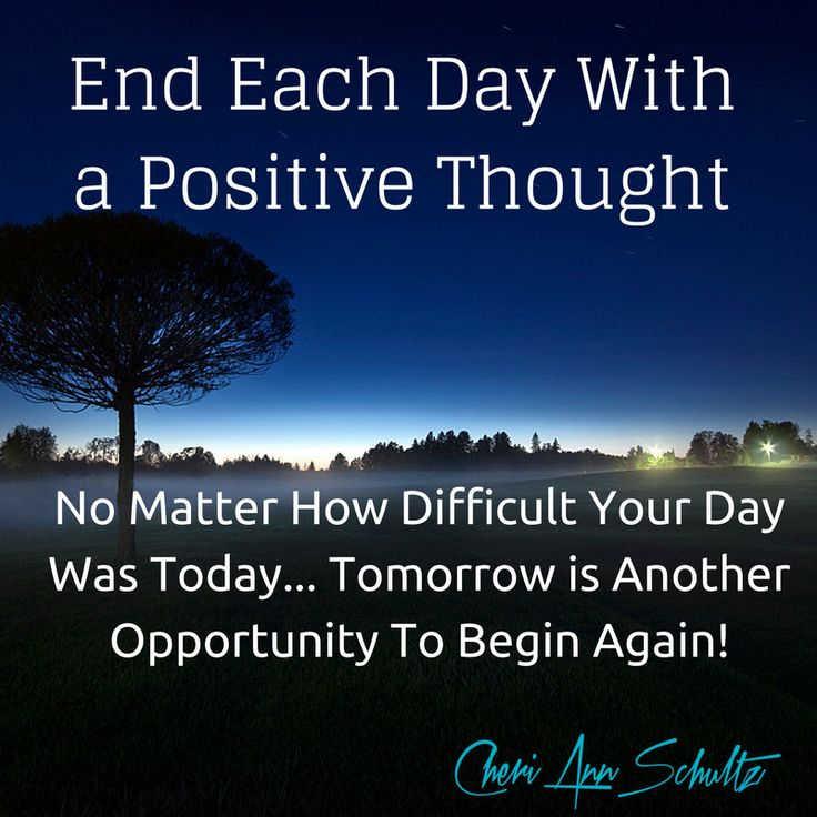 Have an attitude of gratitude each and every day. You do not know what tomorrow holds but you have a clean slate to begin again!!⠀