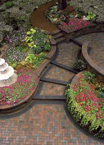 paver walkway brick pavers walkways driveways walkway designs flowers