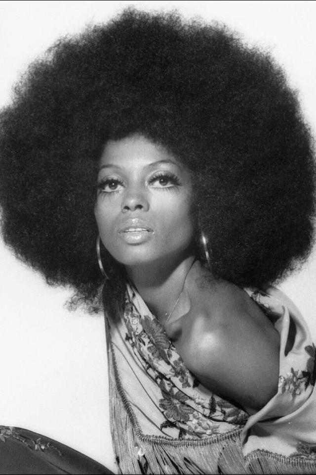 Diana Ross -make up 1970s