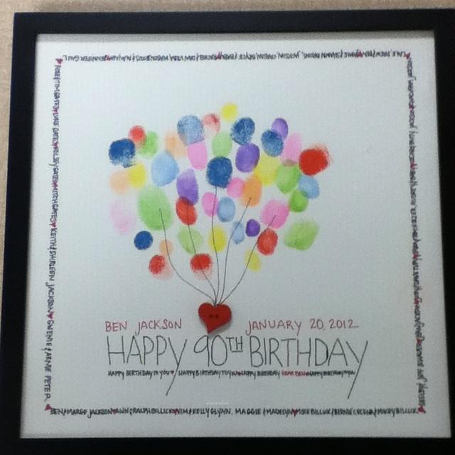 Happy birthday fingerprint guest book  entertaining  ~ 013005_Birthday Party Guest Ideas