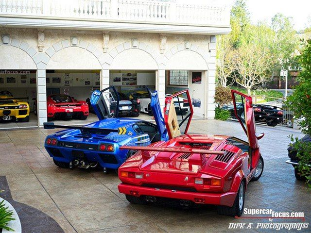 Exquisite Supercar Garage Garages Carolina Mountain Real