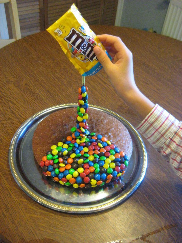 Gâteau suspendu ( Gravity cake )
