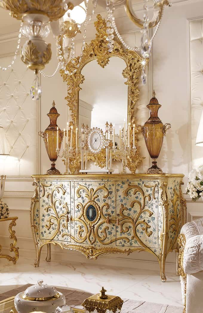 White European style Royal Luxury