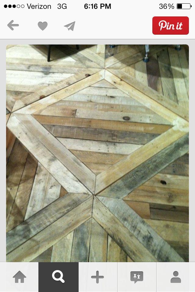Reclaimed wood flooring is so in keeping