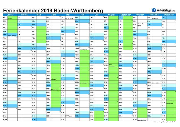 Wann Sind Sommerferien In Baden Württemberg
